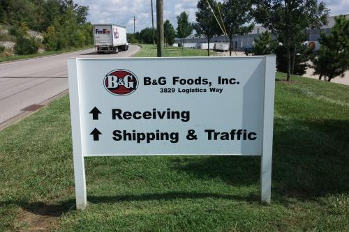 B&G Directional Sign