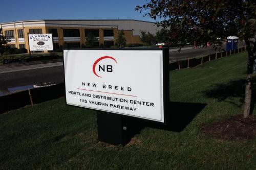 New Breed Illuminated Sign