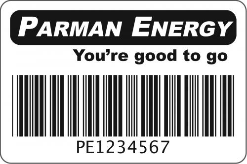 Parman label